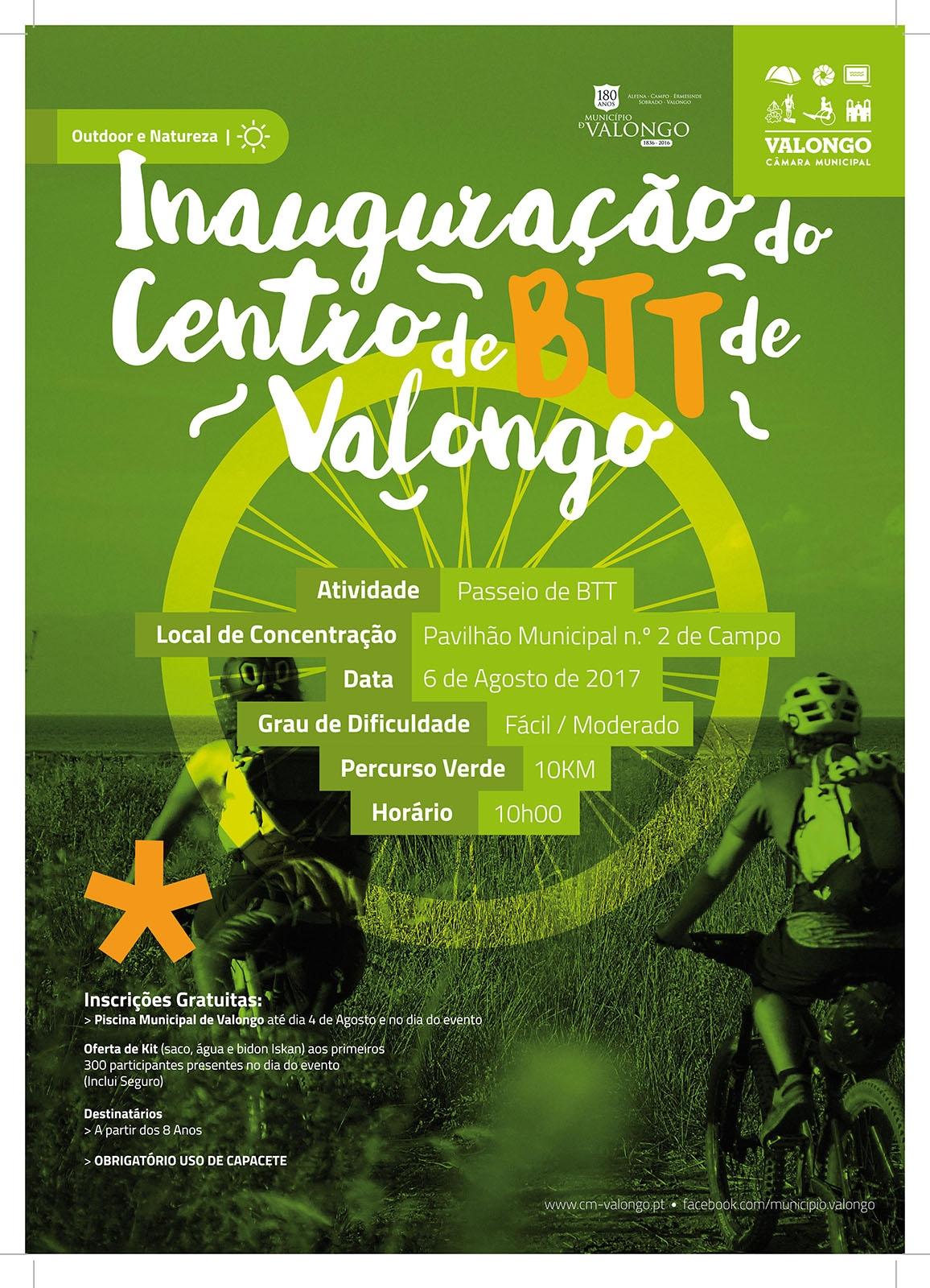 Inauguração do Centro de BTT de Valongo | BttClub