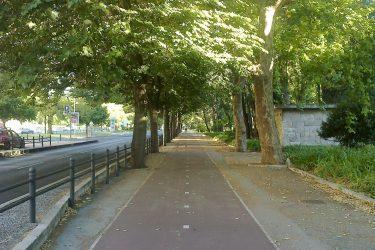 A caminho do escritório