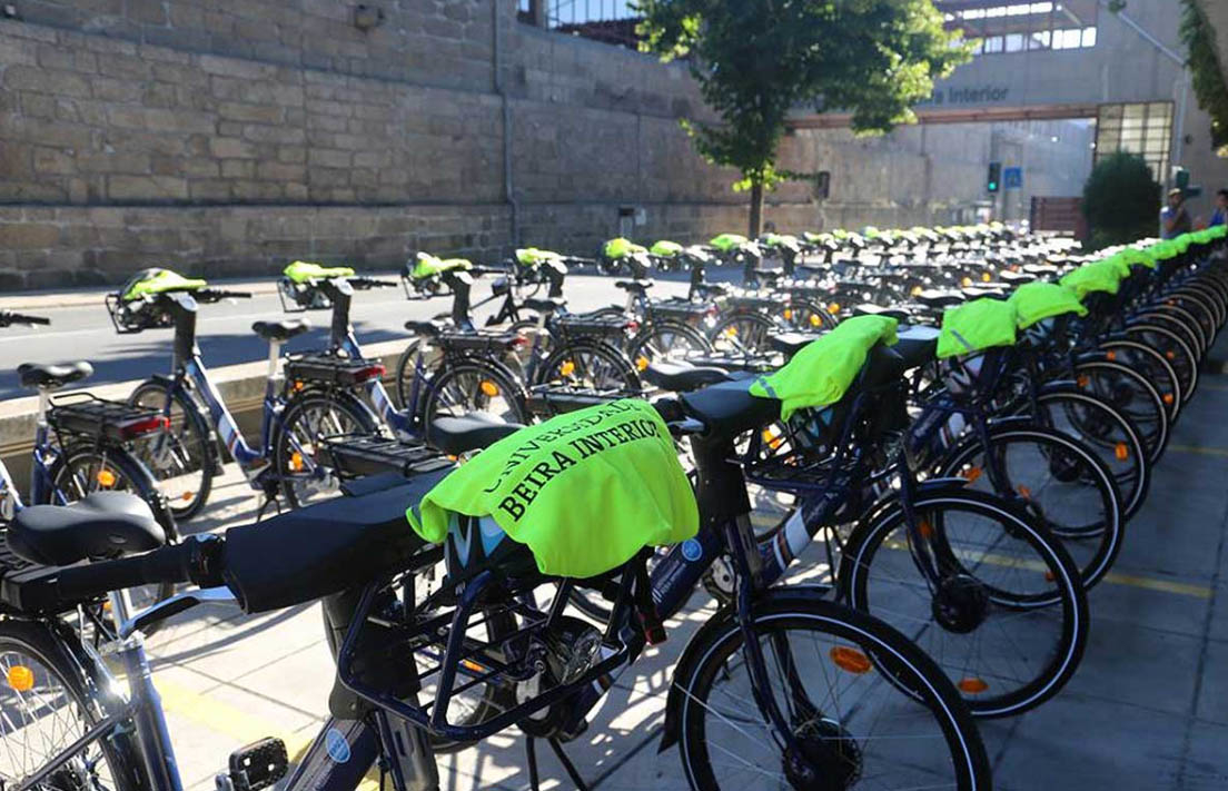 Universidade da Beira Interior disponibiliza 100 bicicletas eléctricas