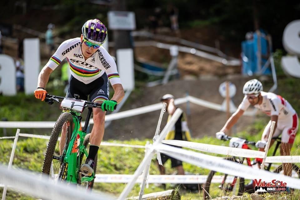 Nino Schurter em Val Di Sole