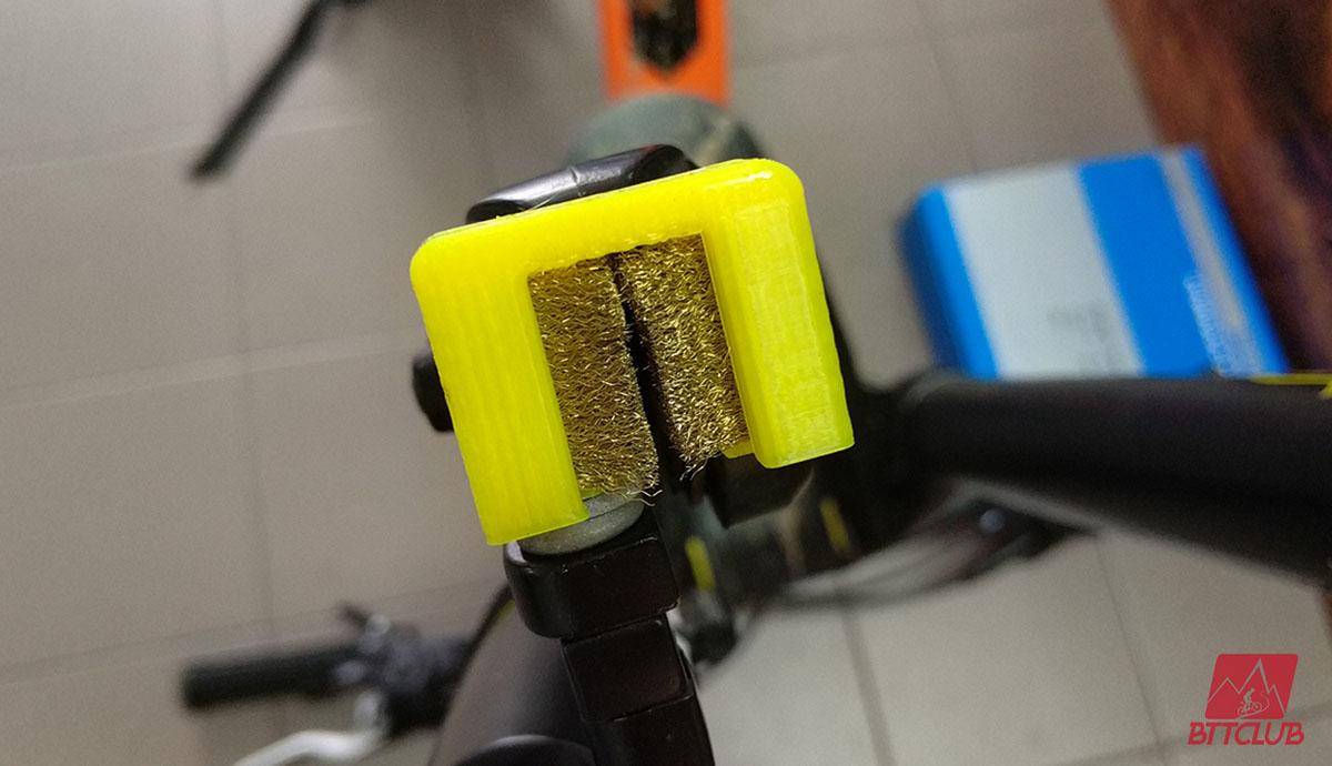Escovas do Brake Protec após os 70km iniciais