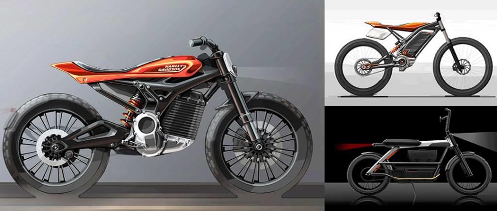 Projectos de Harley-Davidson elétricas