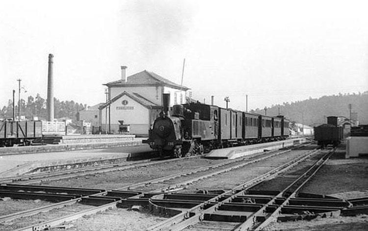 Antiga linha de comboio que ligava Famalicão à Póvoa de Varzim