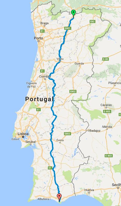 Estrada Nacional 2 Percorrer Portugal De Norte A Sul Em Bicicleta